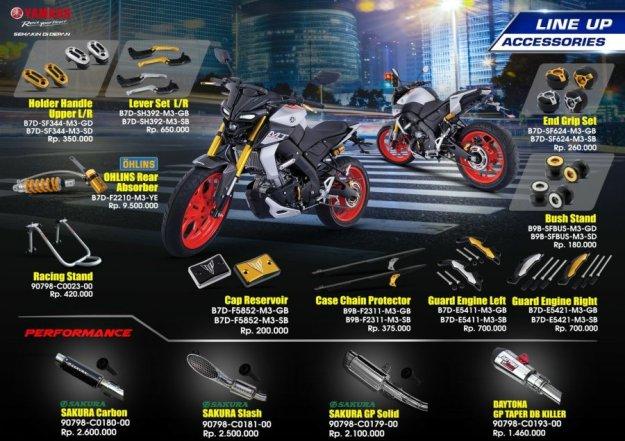 Aksesoris Resmi Yamaha MT-15 (2)
