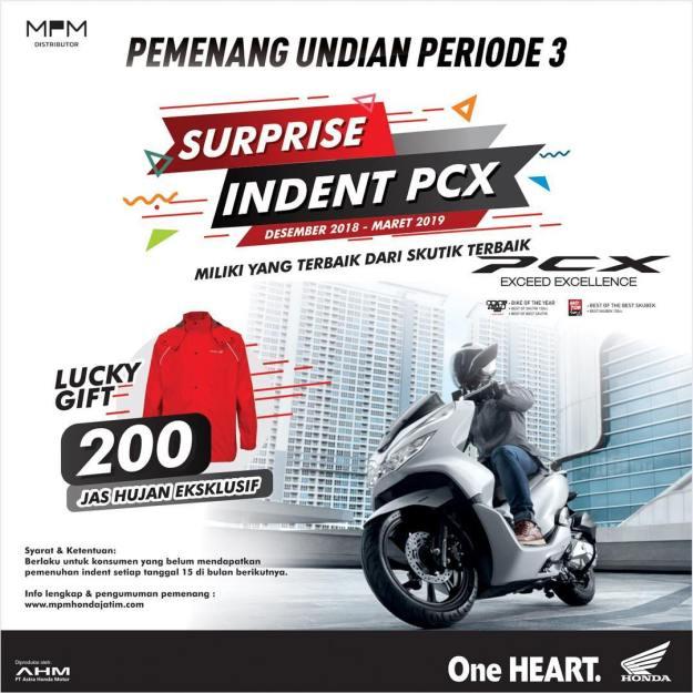 Ini Daftar Pemenang Suprise Indent Honda PCX Periode 3 (3)