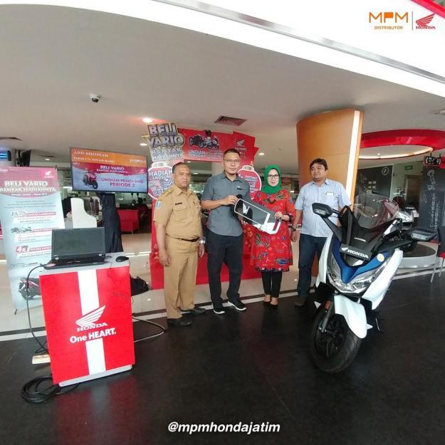 Ini Daftar Pemenang Tahap 2 Undian Beli Vario Banyak Hadiah MPM Honda Jatim. (1)