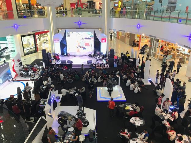 Lebih Dekat, MPM Gelar Honda Premium Matic Day di Icon Mall, Gresik (10)