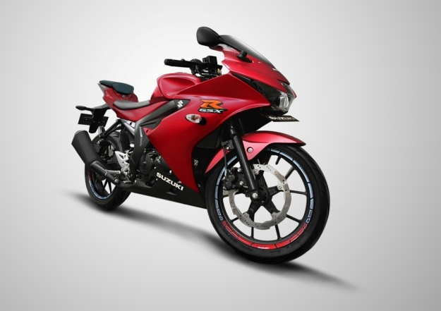 Matt Red, Warna Baru Suzuki GSX-R150 2019