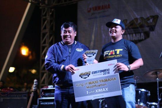 ni Para Juara CustoMaxi Yamaha 2019