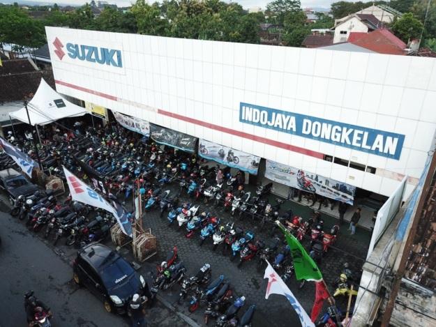 Ratusan Bikers Antusias Ikuti Suzuki Saturday Night Ride Yogyakarta (5)