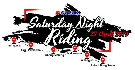 Gandeng SMG Indrapura, Suzuki Gelar Saturday Night Riding Jawa Timur 2019 (2)