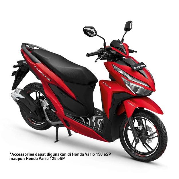 Ragam Aksesoris Resmi Honda Vario 150 eSP 2019, Harga Mulai 50 Ribuan (1)