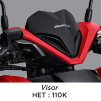 Ragam Aksesoris Resmi Honda Vario 150 eSP 2019, Harga Mulai 50 Ribuan (2)