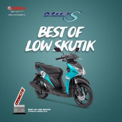 Yamaha Mio S Raih Predikat Best of Low Skutik Versi Otomotif Award 2019