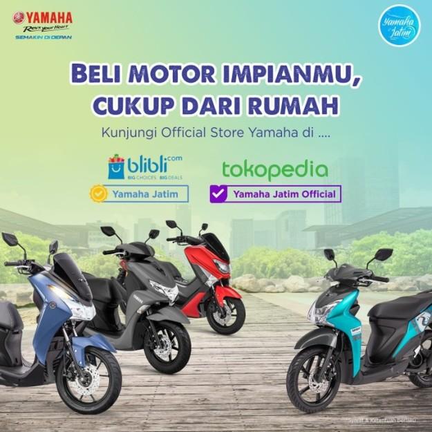 Makin Mudah, Kini Beli Motor Yamaha Bisa Lewat Blibli dan Tokopedia