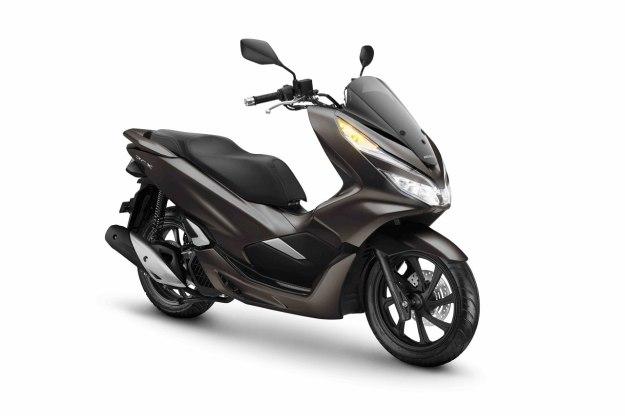 Matte Brown, Warna Baru Honda PCX 2019.jpg
