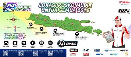 Mudik Lebaran 2019, Yamaha Buka 4 Pos dan 46 Bengkel Jaga Seminggu Penuh.jpg