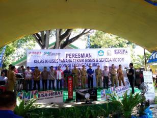 Dukung Dunia Pendidikan, Yamaha Resmikan Kelas Khusus di 5 SMK Sulawesi Selatan (1)