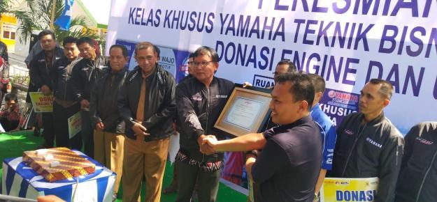 Dukung Dunia Pendidikan, Yamaha Resmikan Kelas Khusus di 5 SMK Sulawesi Selatan (2)