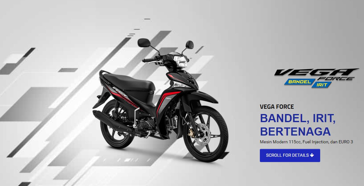 Warna Baru Yamaha Vega Force 2019