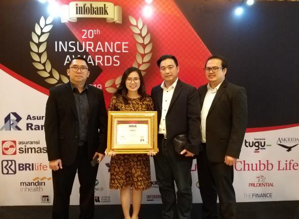 Buktikan Kinerja Baik, MPM Insurance Raih Tiga Penghargaan (1)