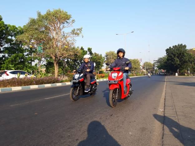 Test Ride Honda Genio, Skutik Kompak Yang Responsif