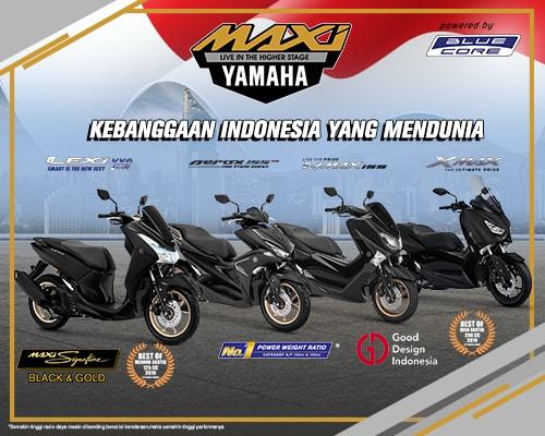 Inovasi Yamaha, Penuhi Kebutuhan Transportasi Konsumen Indonesia