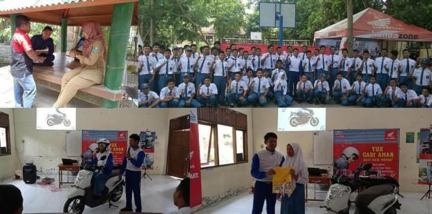 MPM Beri Edukasi Safety Riding Pada SMKN 1 Ngasem Kediri (1)