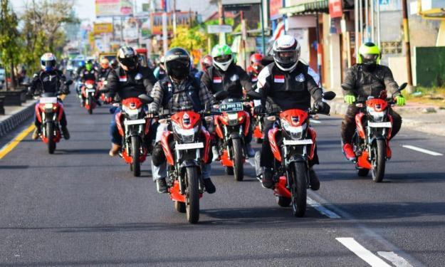 Suzuki Pulogadung Touring Jelajah Dieng (2)
