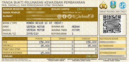 Pengalaman Bayar Pajak Motor di Indomaret, Mudah dan Praktis!! (2)