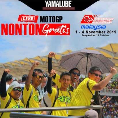 Daftar Pemenang Yamalube Nontong Langsung MotoGP Sepang 2019 (2)