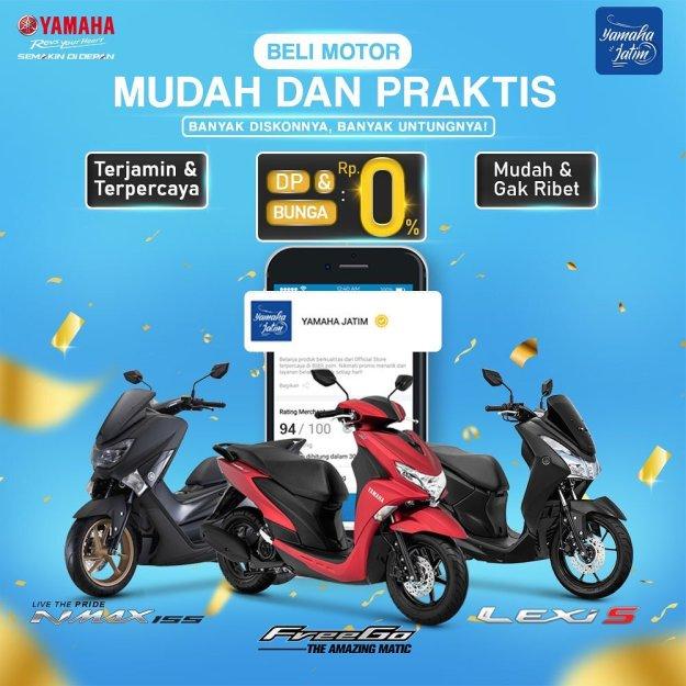 Mudah & Praktis, Ini Cara Beli Motor Yamaha via e-comerce Blibli