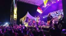 Penampilan Kotak Band saat MAXI Yamaha Day di Dieng