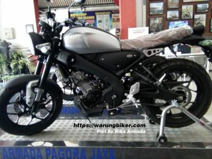 GerCep, Yamaha XSR 155 Sudah Sampai Kediri, Harga 36 Jutaan (1)