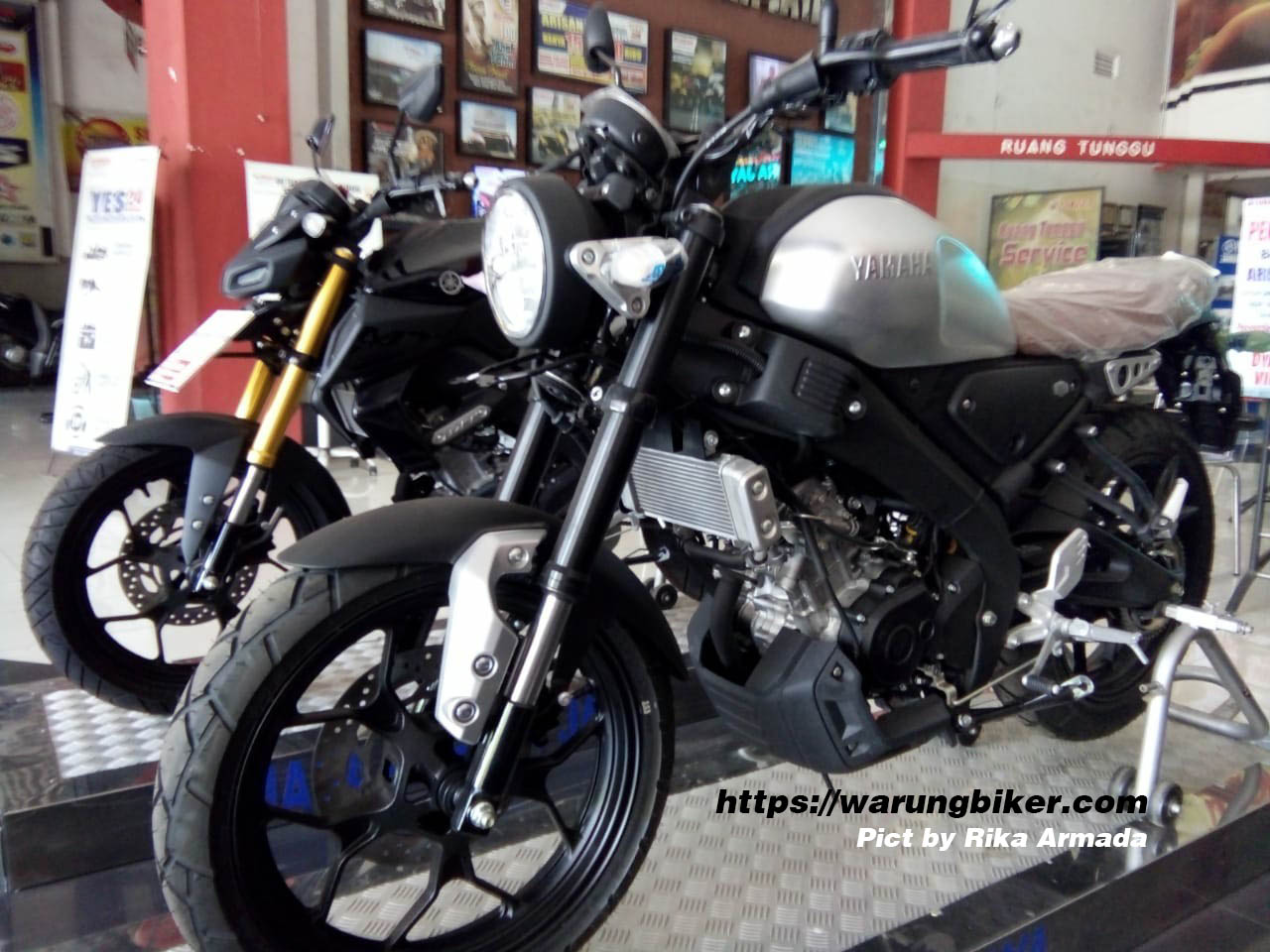 GerCep, Yamaha XSR 155 Sudah Sampai Kediri, Harga 36 Jutaan (2)