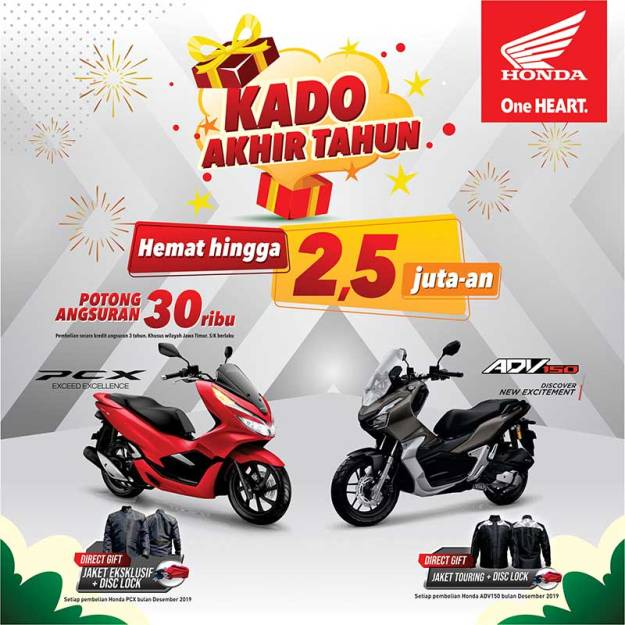 Kado-Akhir-Tahun,-Honda-Jatim-Kasih-Diskon-Spesial-PCX-&-ADV-150