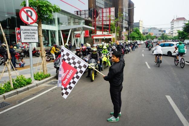 Kompak, Komunitas CBR250RR Jawa Timur Touring Bareng Ke Pacet (2)