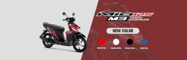 Lebih Segar, Yamaha Luncurkan Warna Baru Mio M3 Tahun 2020