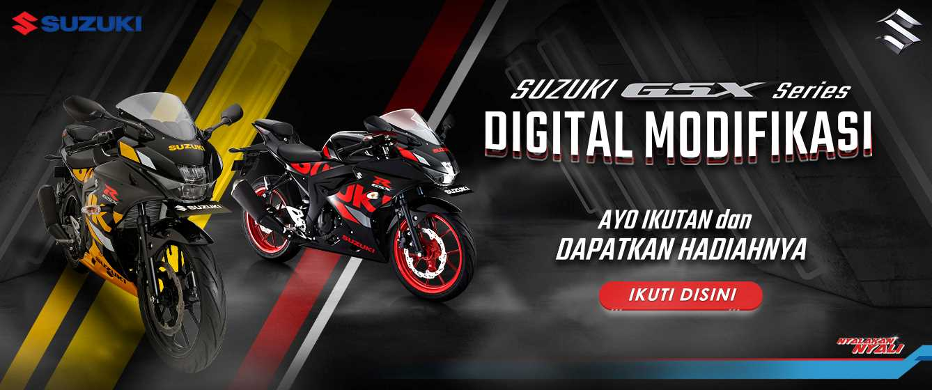 Suzuki GSX Series Digital Modifikasi