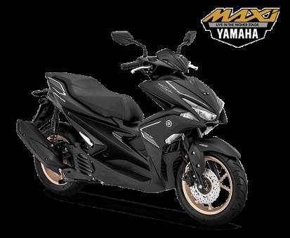 Yamaha Aerox 155 Matte Black