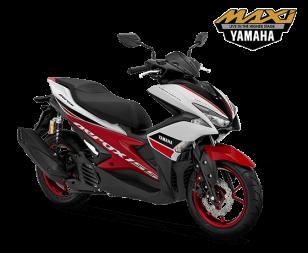 Yamaha Aerox 155 Racing White