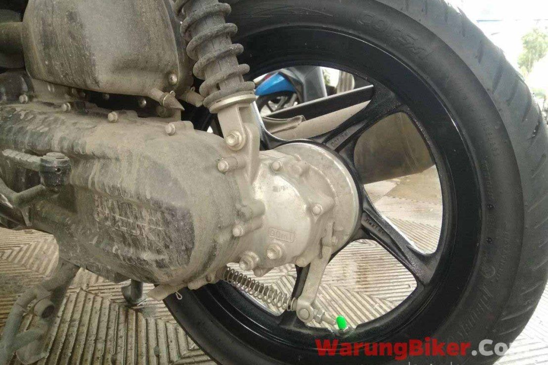 Ganti Kampas Rem Belakang Suzuki NEX2