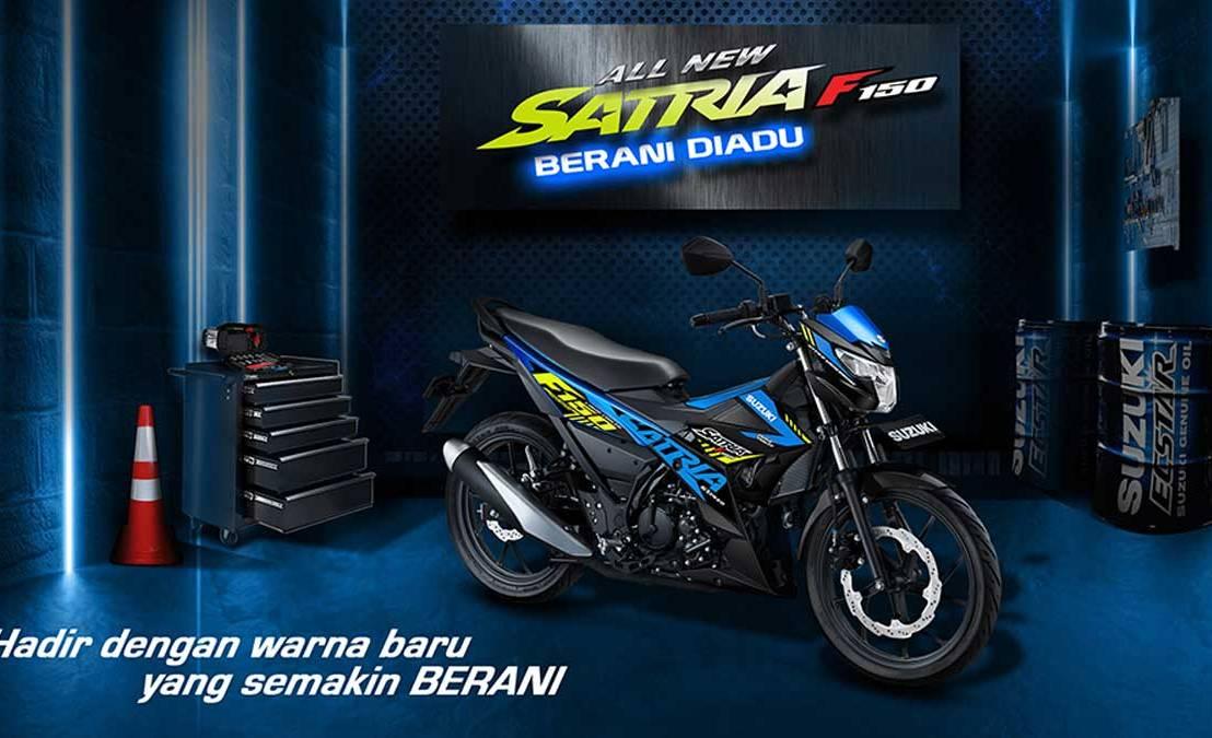 Suzuki Rilis Warna & Grafis Baru Satria F150 Terbaru2020
