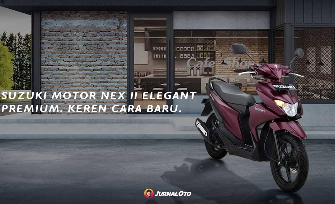 Suzuki Segarkan Tampilan NEX II Terbaru2020