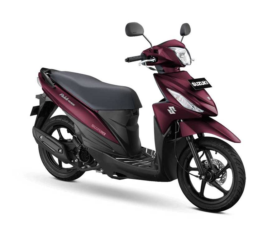 Warna Baru Suzuki Address FI 2021, Ban SudahTubeless