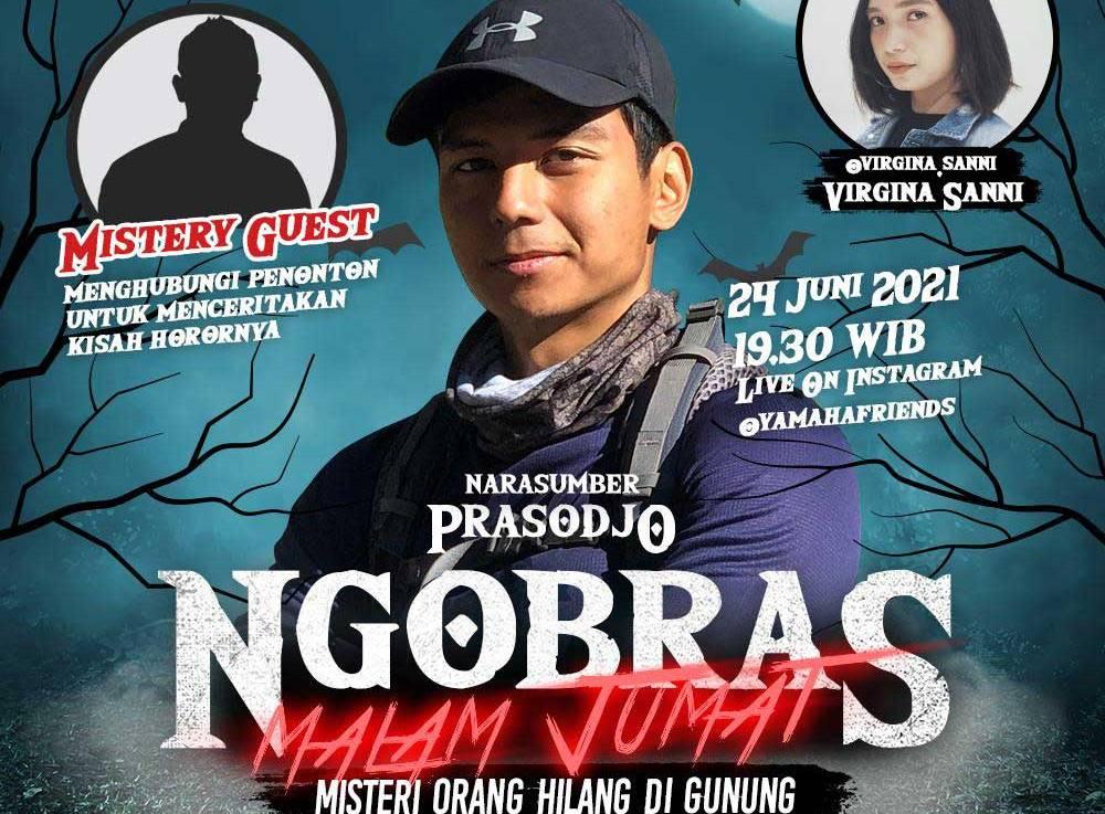 Ngobras Yamaha Jatim Bareng Prasodjo, Bahas Misteri Orang Hilang diGunung